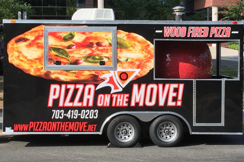 Envelopamento de Food Truck de Pizza Barra Funda - Envelopamento para Frotas