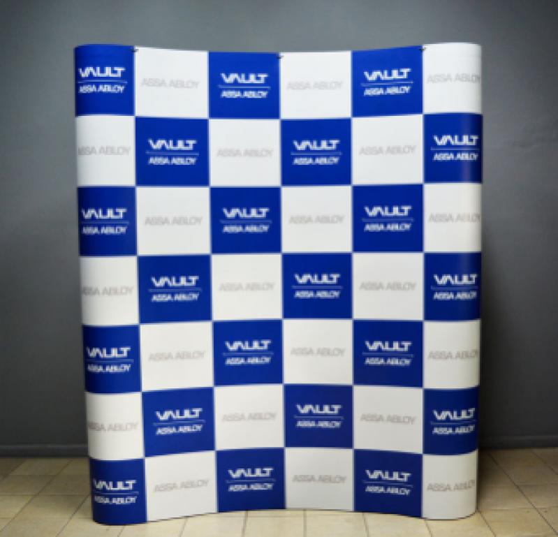 Fazer Painel Backdrop 2x2 para Eventos Promocionais São Miguel Paulista - Painel Backdrop Estrutura