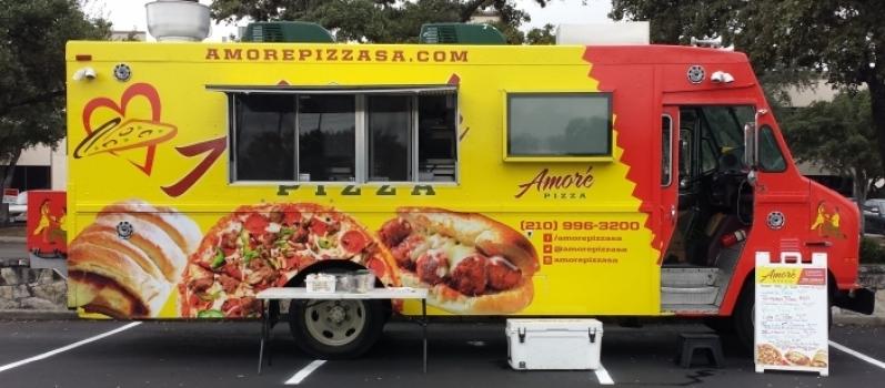 Serviço de Envelopamento de Food Truck de Pizza Alto da Providencia - Envelopamento para Frotas