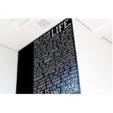 adesivo de parede para academia Nossa Senhora do Ó