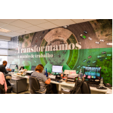 adesivo de parede para escritório Itaim Paulista
