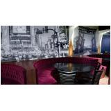 adesivo de parede para restaurante Guararema