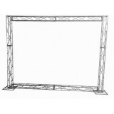 box truss backdrop Moema