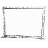 box truss em aço galvanizado