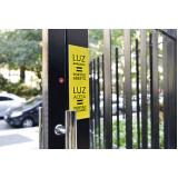 empresa de sinalização de segurança Casa Verde