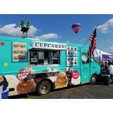 envelopamento de food truck com logo Pompéia