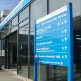 orçamento de sinalização para hospital Saúde