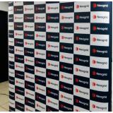 painel backdrop 2x2 para eventos promocionais Limão