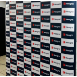 painel backdrop 2x2 para eventos promocionais Pompéia