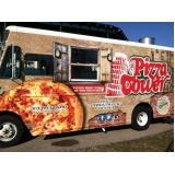 preço de envelopamento de food truck de pizza Cajamar