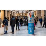 preço do totem promocional Água Branca