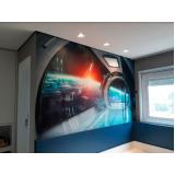quanto custa adesivo de parede para condomínio Vila Anastácio