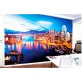 quanto custa adesivo de parede para escritório Vila Ré