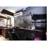 quanto custa adesivo de parede para restaurante Santa Cruz