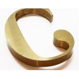 valor do letreiro dourado ABC
